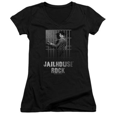 Elvis Presley Junior's V-Neck Shirt | JAILHOUSE ROCK Junior's Tee