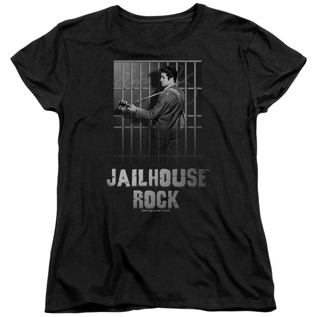 Elvis Presley Women's Shirt | JAILHOUSE ROCK Ladies Tee