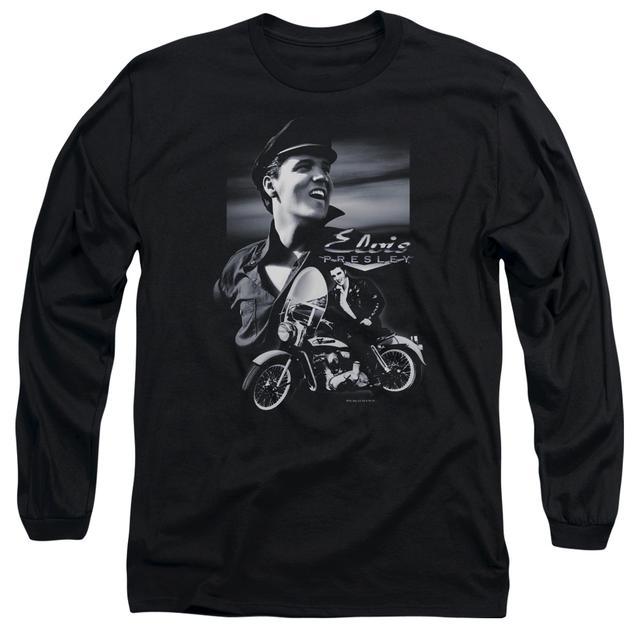 Elvis Presley T Shirt | MOTORCYCLE Premium Tee