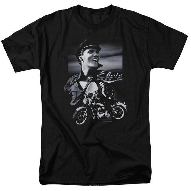 Elvis Presley Shirt | MOTORCYCLE T Shirt