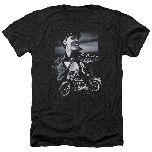 Elvis Presley Tee | MOTORCYCLE Premium T Shirt