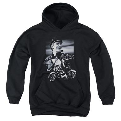 Elvis Presley Youth Hoodie | MOTORCYCLE Pull-Over Sweatshirt