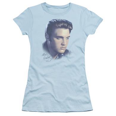 Elvis Presley Juniors Shirt   BIG PORTRAIT Juniors T Shirt