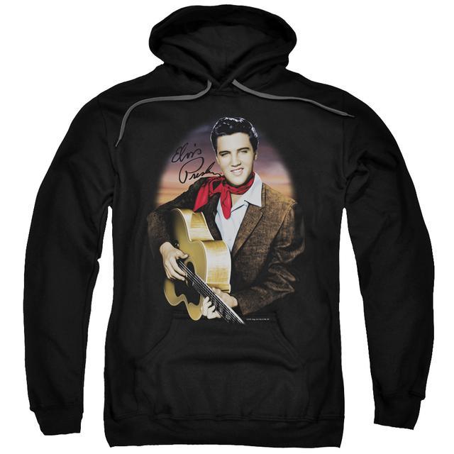 Elvis Presley Hoodie | RED SCARF #2 Pull-Over Sweatshirt