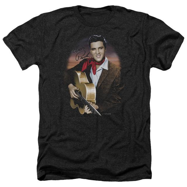 Elvis Presley Tee | RED SCARF #2 Premium T Shirt