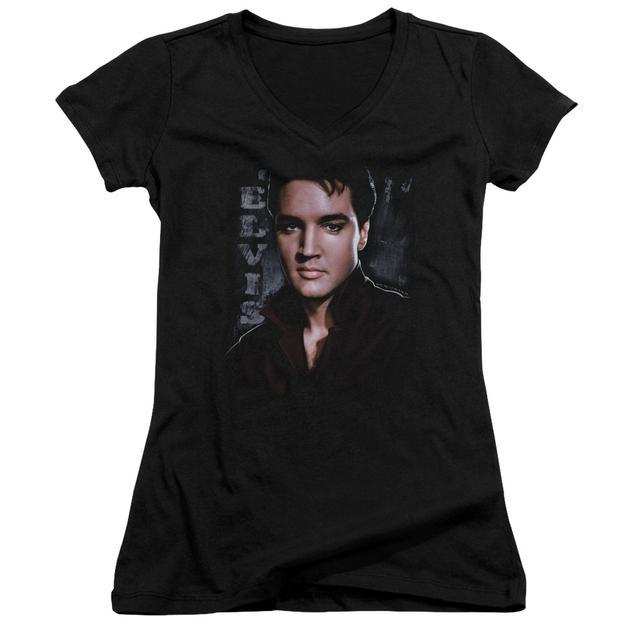 Elvis Presley Junior's V-Neck Shirt   TOUGH Junior's Tee