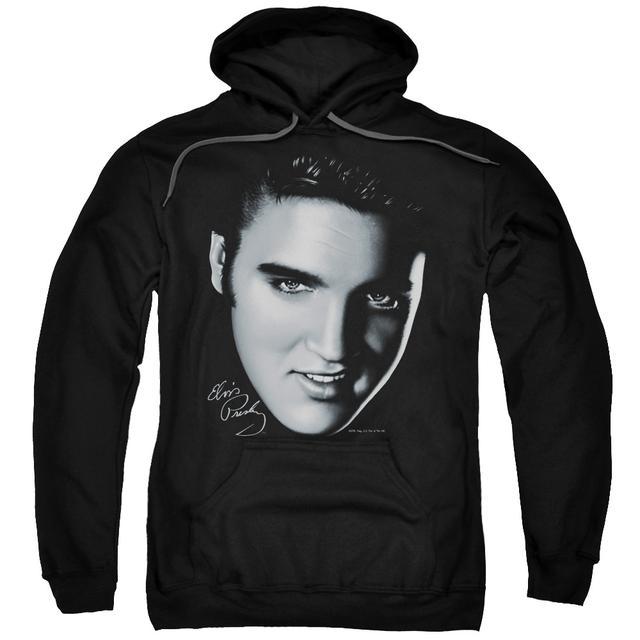 Elvis Presley Hoodie   BIG FACE Pull-Over Sweatshirt