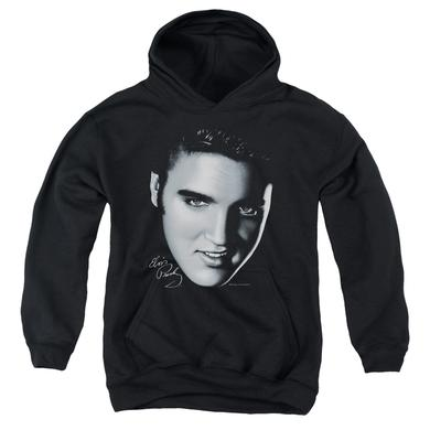 Elvis Presley Youth Hoodie | BIG FACE Pull-Over Sweatshirt