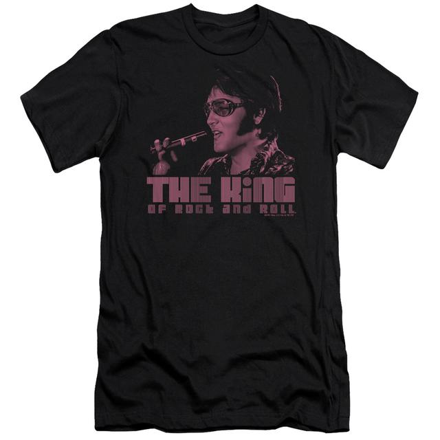 Elvis Presley Slim-Fit Shirt | THE KING Slim-Fit Tee