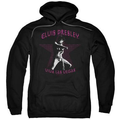 Elvis Presley Hoodie | VIVA LAS VEGAS STAR Pull-Over Sweatshirt