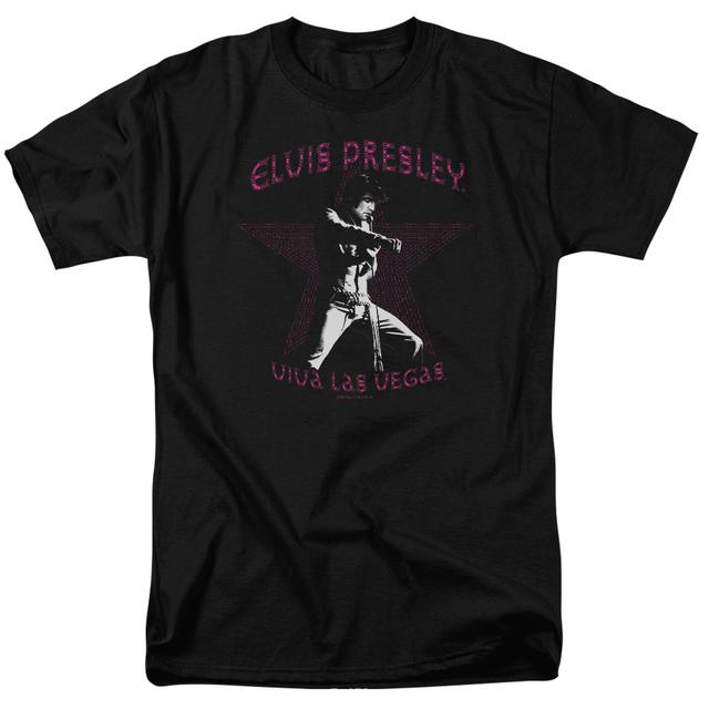 Elvis Presley Shirt | VIVA LAS VEGAS STAR T Shirt