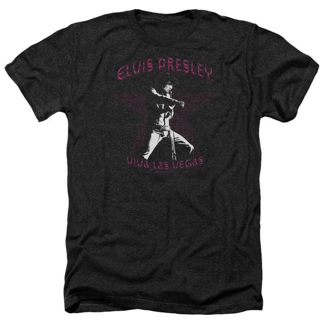 Elvis Presley Tee | VIVA LAS VEGAS STAR Premium T Shirt