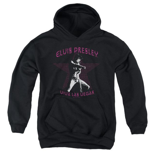 Elvis Presley Youth Hoodie | VIVA LAS VEGAS STAR Pull-Over Sweatshirt