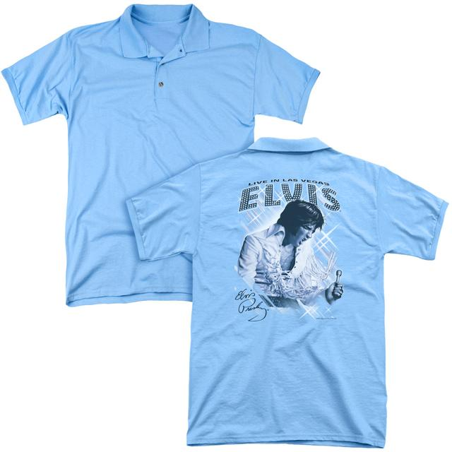 Elvis Presley BLUE VEGAS (BACK PRINT)