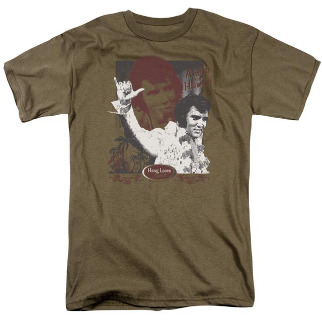 Elvis Presley Shirt | ALOHA HANG LOOSE T Shirt