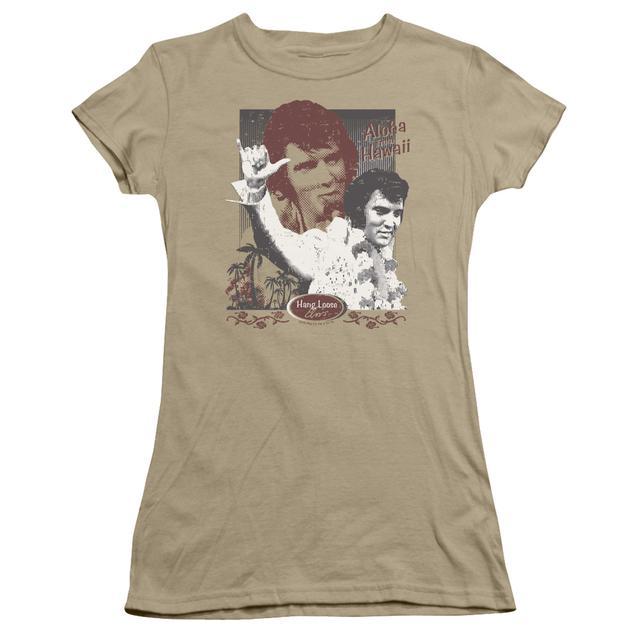 Elvis Presley Juniors Shirt | ALOHA HANG LOOSE Juniors T Shirt