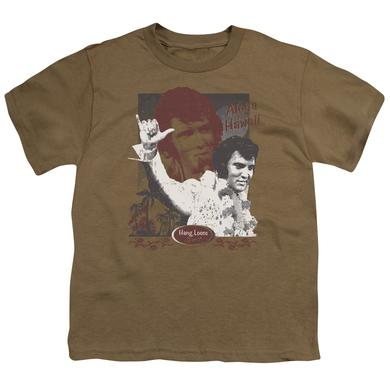 Elvis Presley Youth Tee | ALOHA HANG LOOSE Youth T Shirt