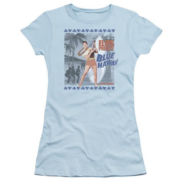 Elvis Presley Juniors Shirt   BLUE HAWAII POSTER Juniors T Shirt