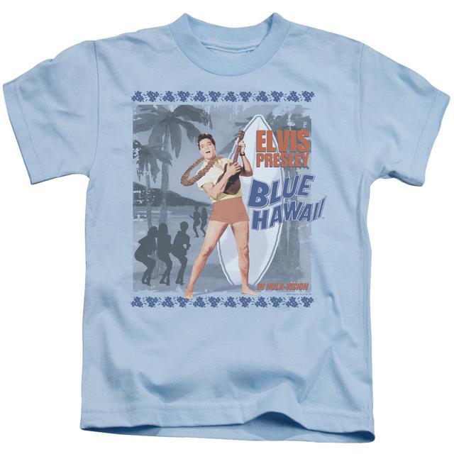 Elvis Presley Kids T Shirt   BLUE HAWAII POSTER Kids Tee