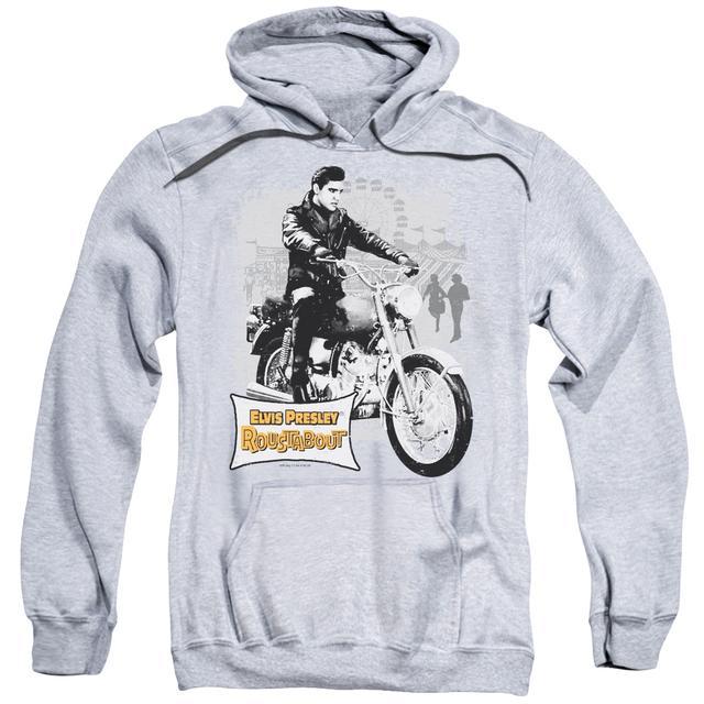 Elvis Presley Hoodie | ROUSTABOUT POSTER Pull-Over Sweatshirt