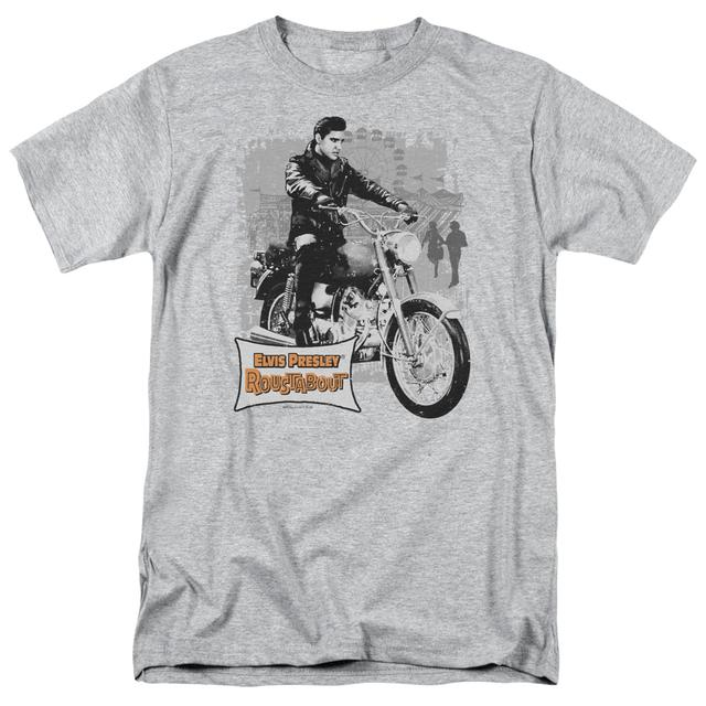 Elvis Presley Shirt | ROUSTABOUT POSTER T Shirt
