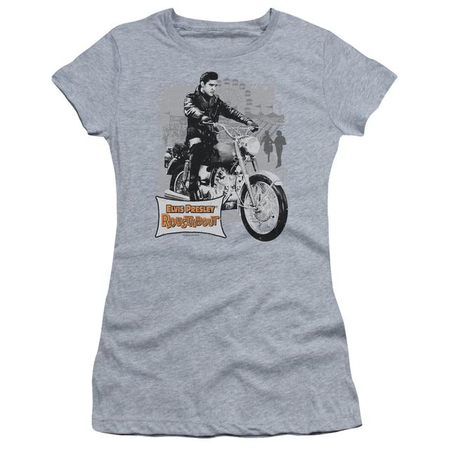 Elvis Presley Juniors Shirt | ROUSTABOUT POSTER Juniors T Shirt