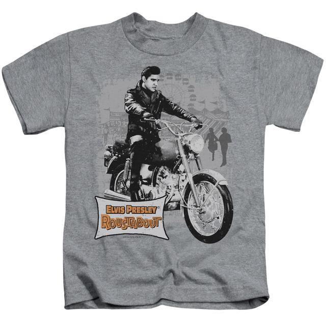 Elvis Presley Kids T Shirt | ROUSTABOUT POSTER Kids Tee