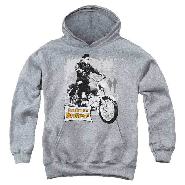 Elvis Presley Youth Hoodie | ROUSTABOUT POSTER Pull-Over Sweatshirt