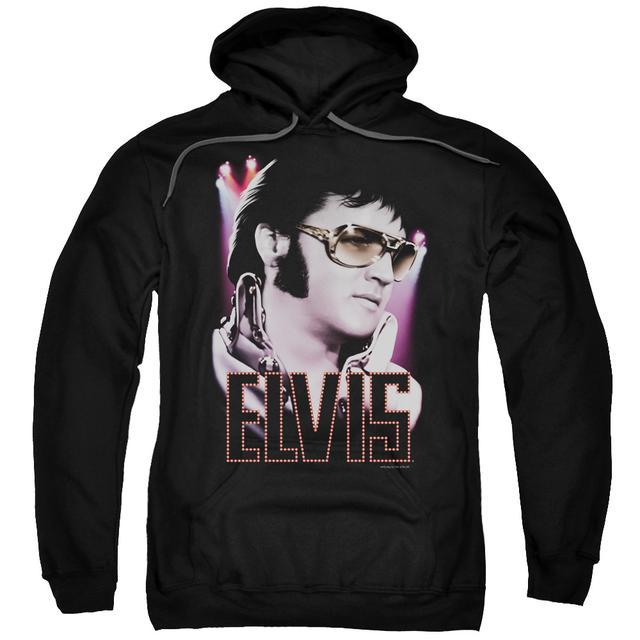 Elvis Presley Hoodie | 70'S STAR Pull-Over Sweatshirt
