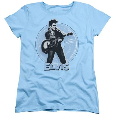 Elvis Presley Women's Shirt | 45 RPM Ladies Tee