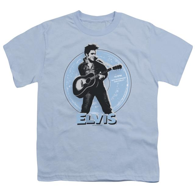 Elvis Presley Youth Tee | 45 RPM Youth T Shirt
