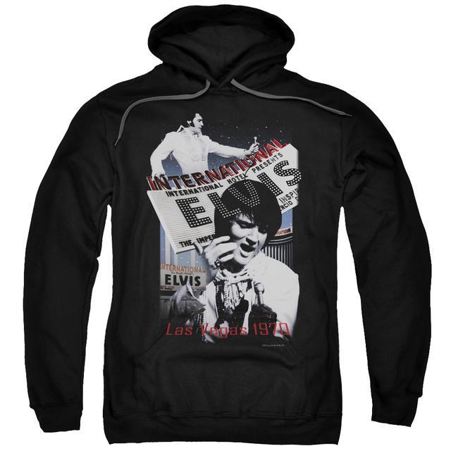 Elvis Presley Hoodie | INTERNATIONAL HOTEL Pull-Over Sweatshirt