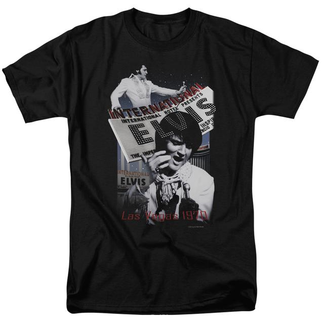 Elvis Presley Shirt | INTERNATIONAL HOTEL T Shirt