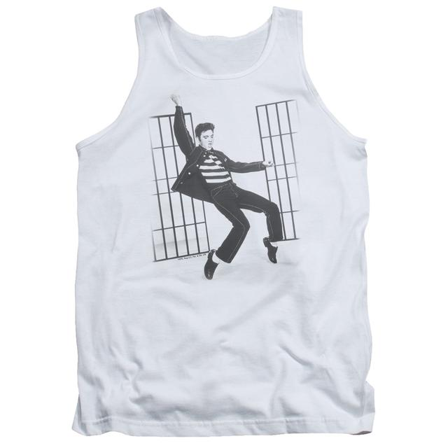 Elvis Presley Tank Top | JAILHOUSE ROCK Sleeveless Shirt