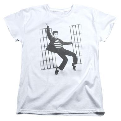 Elvis Presley Women's Shirt   JAILHOUSE ROCK Ladies Tee
