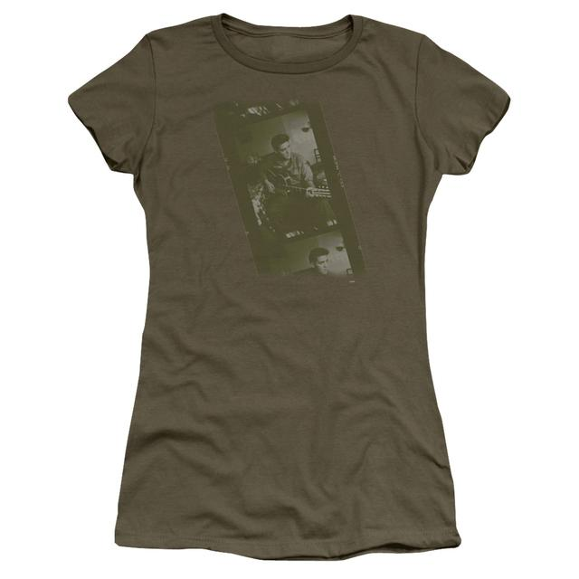 Elvis Presley Juniors Shirt   ARMY Juniors T Shirt