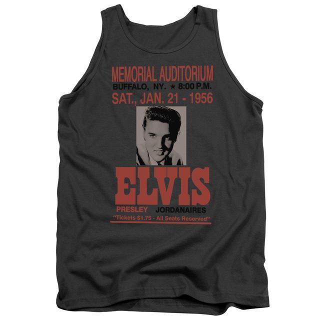 Elvis Presley Tank Top | BUFFALO 1956 Sleeveless Shirt
