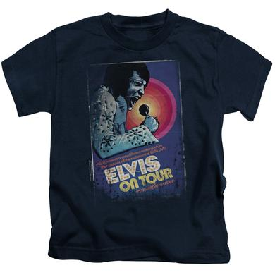 Elvis Presley Kids T Shirt | ON TOUR POSTER Kids Tee