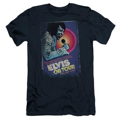 Elvis Presley Slim-Fit Shirt | ON TOUR POSTER Slim-Fit Tee