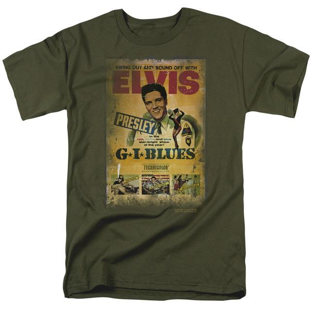 Elvis Presley Shirt | GI BLUES POSTER T Shirt