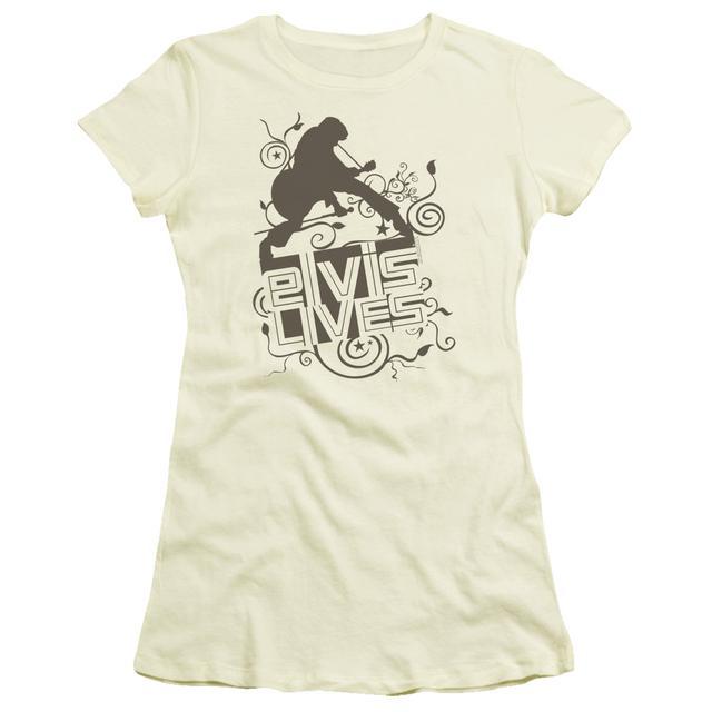 Juniors Shirt | ELVIS LIVES Juniors T Shirt
