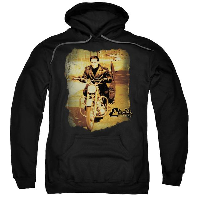 Elvis Presley Hoodie | HIT THE ROAD Pull-Over Sweatshirt
