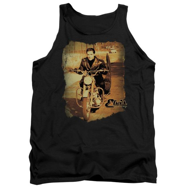 Elvis Presley Tank Top | HIT THE ROAD Sleeveless Shirt