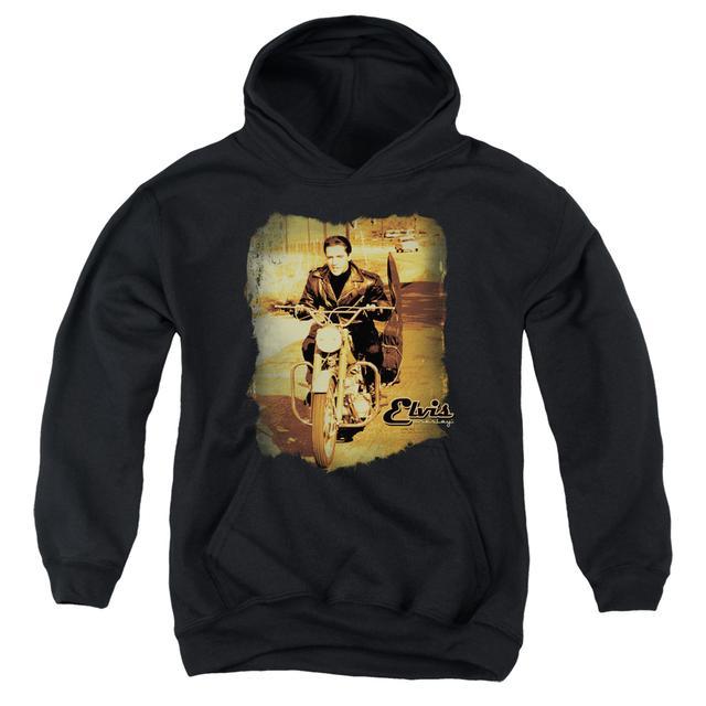 Elvis Presley Youth Hoodie | HIT THE ROAD Pull-Over Sweatshirt