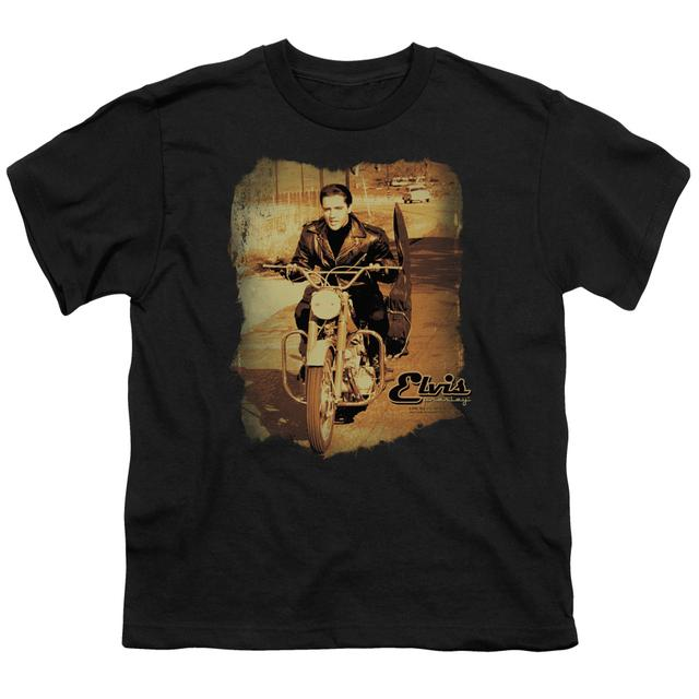 Elvis Presley Youth Tee | HIT THE ROAD Youth T Shirt