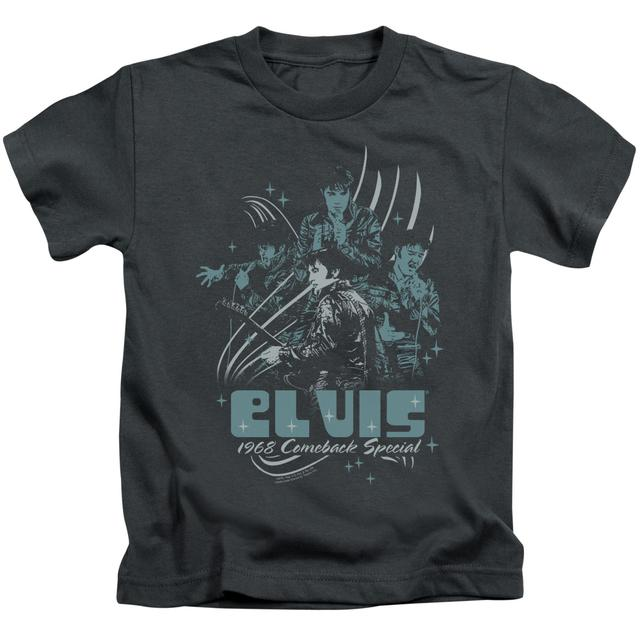 Elvis Presley Kids T Shirt | 68 LEATHER Kids Tee