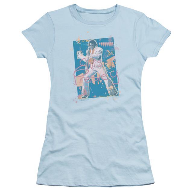 Elvis Presley Juniors Shirt | SPLATTER HAWAII Juniors T Shirt