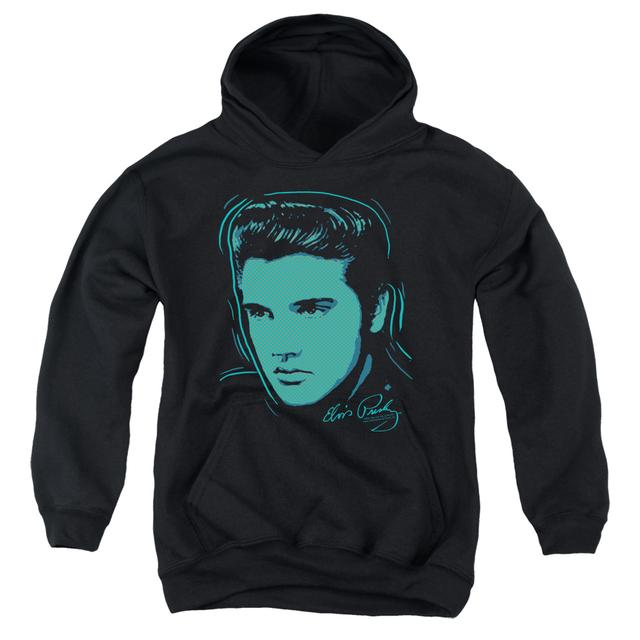 Elvis Presley Youth Hoodie | YOUNG DOTS Pull-Over Sweatshirt