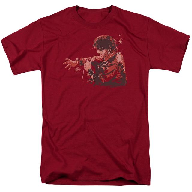 Elvis Presley Shirt | RED COMBACK T Shirt