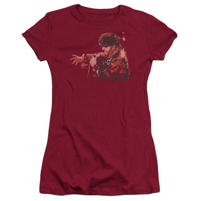 Elvis Presley Juniors Shirt | RED COMBACK Juniors T Shirt